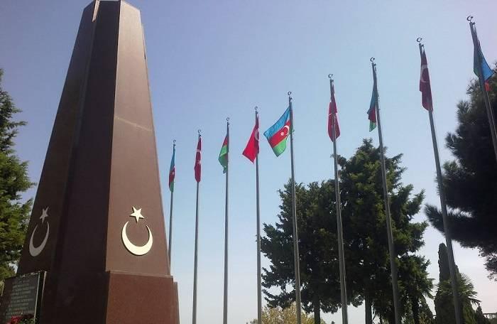 Bakıda Türk şəhidliyi abidəsi ziyarət edilib