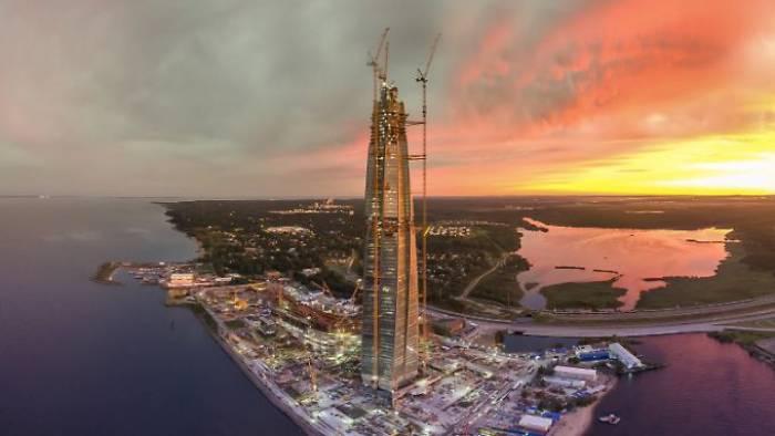 Gazprom errichtet Rekord-Wolkenkratzer