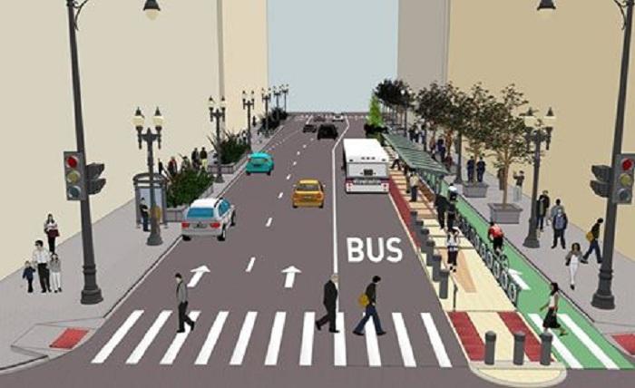 Bakıda avtobuslar üçün xüsusi zolaqlar olacaq