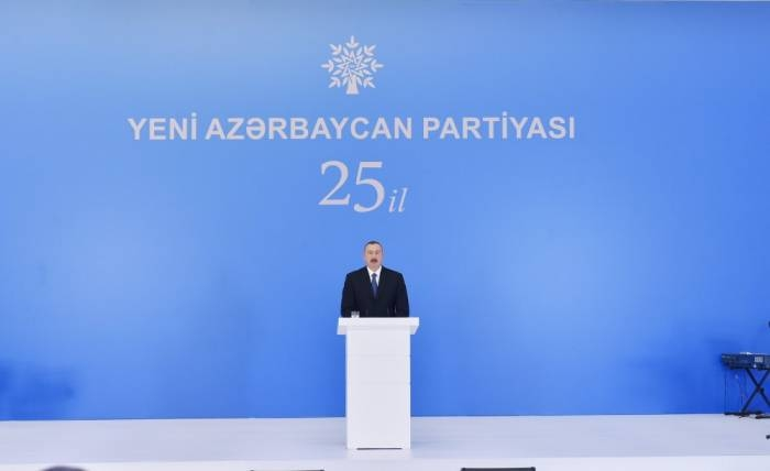 Establishment of YAP was a turning point in history of modern Azerbaijani statehood-President Aliyev