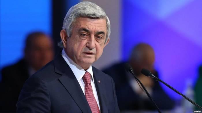 Sarkisyan Qarabağdan danışdı: