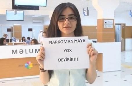 """""""ASAN"""" narkomaniyaya qarşı - VİDEO"""