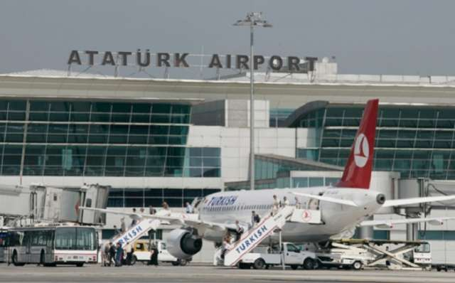 Istanbul's Ataturk airport closed after jet crashes, 4 injured