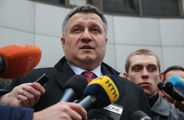 Ukraine interior minister's son detained
