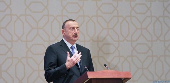 Ilham Aliyev: L`Azerbaïdjan joue un rôle important dans la lutte contre le terrorisme international