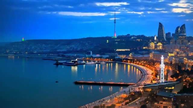 Baku - city of lights - NO COMMENT