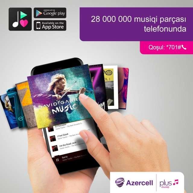 """""""Azercell""""dən hər gün milyonlarla mahnı"""