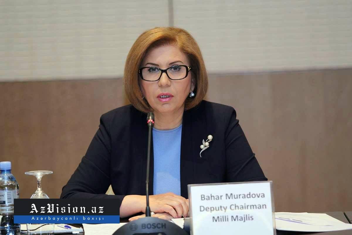"""""""Rusiya ilə ciddi problemimiz yoxdur"""" - Bahar Muradova"""