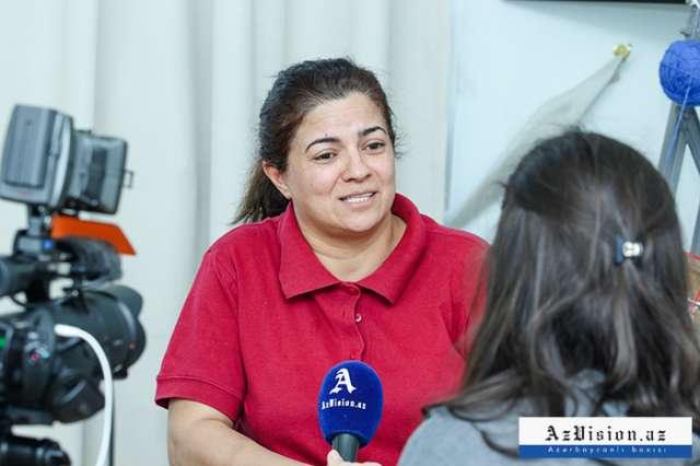 Azərbaycanlı xanım idmançı 19 ildir gəzə bilmir - FOTOLAR, VİDEO