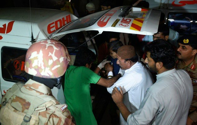 At least 72 martyred in bombing at Lal Shahbaz Qalandar shrine - UPDATED