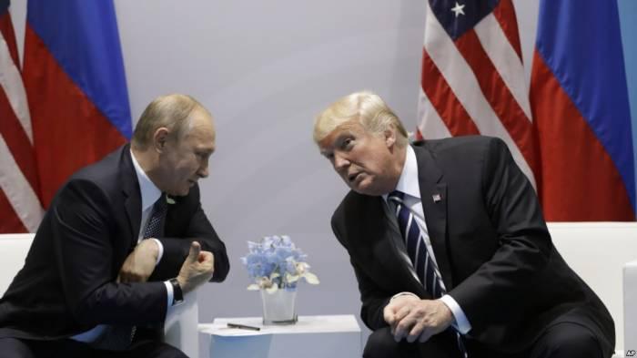 Trampla Putin yenidən görüşə bilər