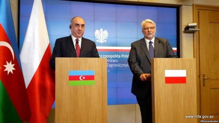 Außenminister von Polen kommt nach Aserbaidschan