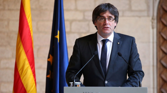 Ousted Catalan leader flees to Brussels as Spanish prosecutor demands rebellion charges