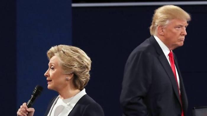 Trump schimpft wieder auf Clinton