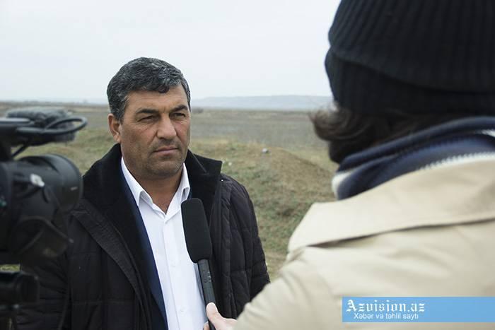 Le président a attribué l'ordre au résident du village de Djodjoug Mardjanlyy