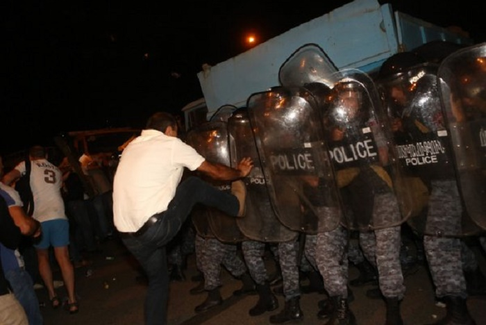 60 injured, 100  detained as a result of clash between police and protesters - VIDEO, UPDATED, PHOTOS