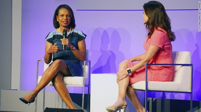 Trump wished Condi Rice was a `bitch` in 2006