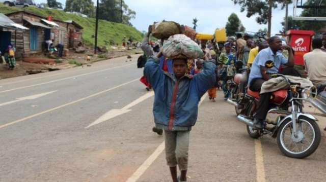 DR Congo displacement crisis 'worse than Middle East'