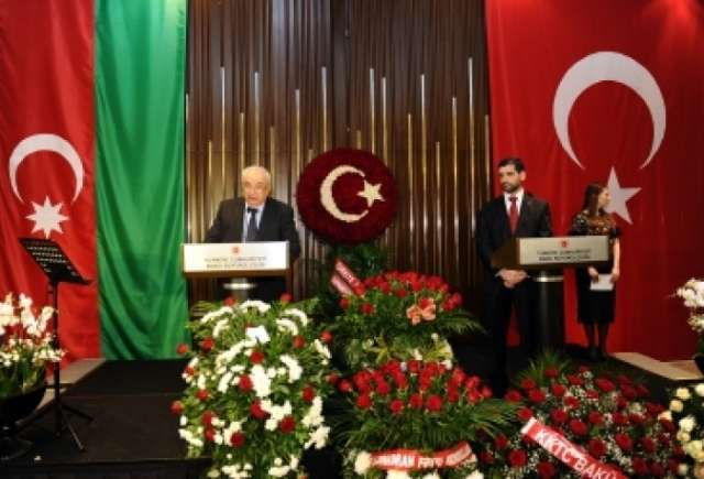 Turkish national holiday marked in Baku