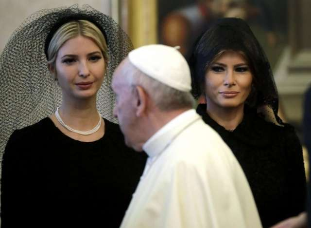 Why Melania Trump wore a head covering in Rome but not in Saudi Arabia