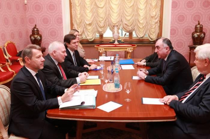 Məmmədyarov Moskvada həmsədrlərlə görüşüb - FOTO