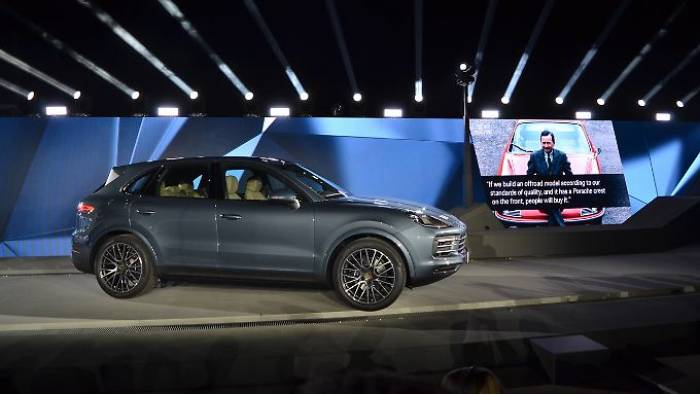 Neuer Porsche Cayenne feiert Weltpremiere