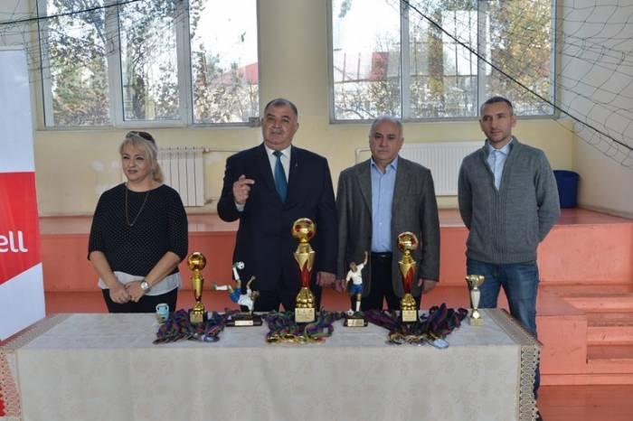 """""""Bakcell""""in dəstəyi ilə futzal turniri təşkil edilib"""