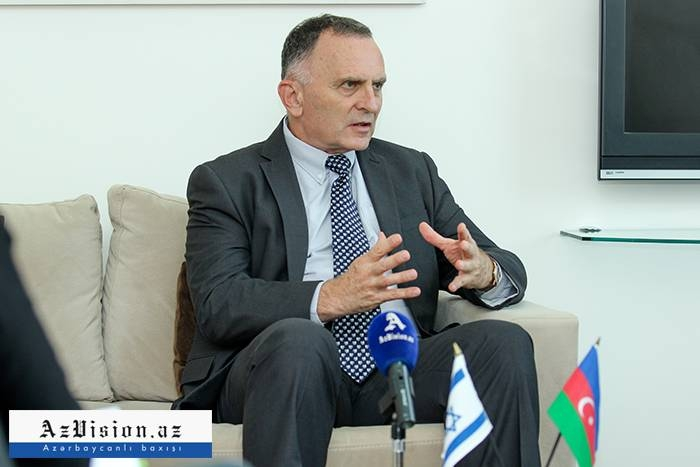 """Israel always supports peaceful resolution of Nagorno-Karabakh conflict"" - Interview with Israeli Ambassador"