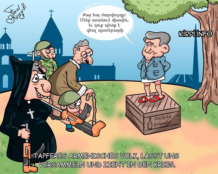 Mobilisierung Sargsyans