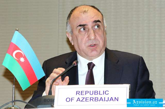 Foreign Minister Elmar Mammadyarov met with OSCE Minsk Group Co-Chairs