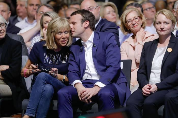 France: Brigitte Macron interdit la junk food à Emmanuel Macron