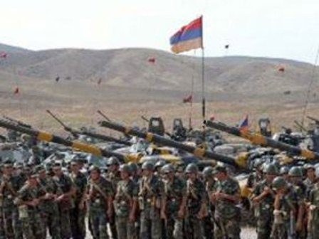 Ermənistan Azərbaycan torpaqlarında təlimlərə başladı