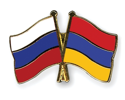 The prime ministers of Armenia and Russia meet