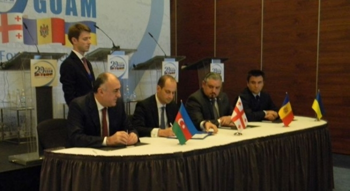 FMs of GUAM member countries sign Tbilisi Declaration