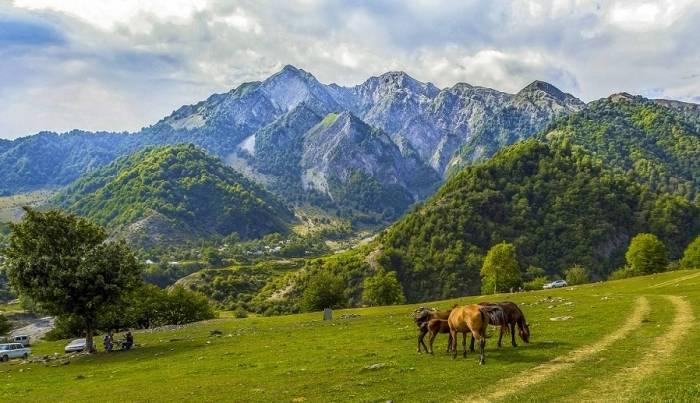 Aserbaidschans historische Gabala-Region - BILDER