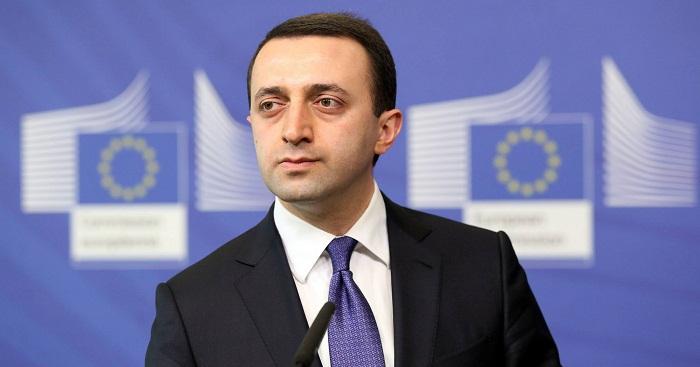Georgian Prime Minister arrives in Azerbaijan