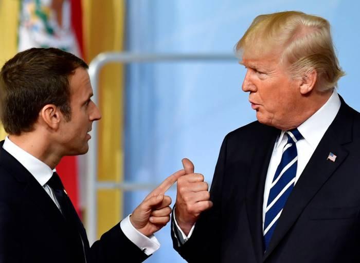 Frankreichs Präsident Emmanuel Macron nannte die Entscheidung Trumps bedauerlich.