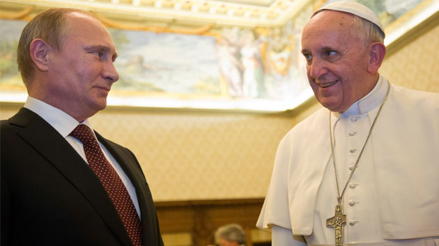 Putin and Pope hold talks at United Nations