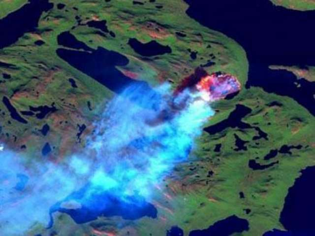 Greenland hit by largest wildfire on record, scientists report