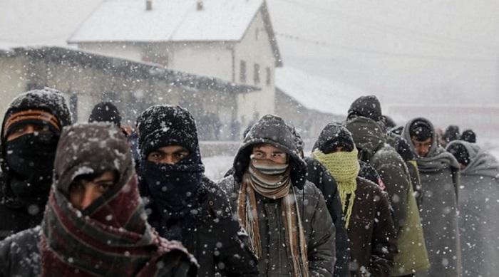 Víctimas de guerra atrapadas entre Serbia y Hungría sobreviven a 20 grados bajo cero
