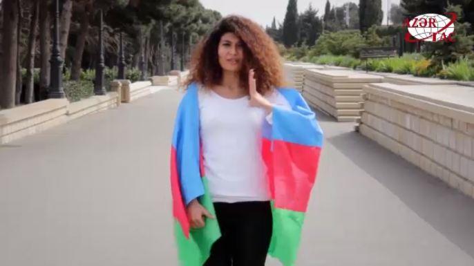 Nationalhymne von Aserbaidschan in der Gebärdensprache-VIDEO