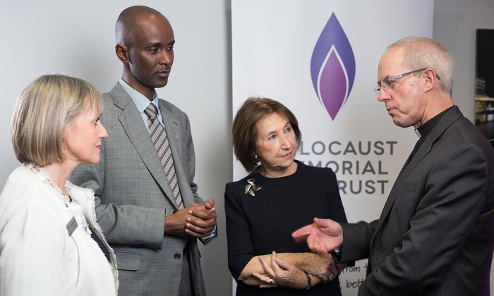 Genocide survivors gather in London ahead of Holocaust Memorial Day - VIDEO