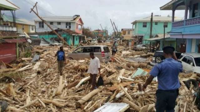 Hurricane Maria 'leaves 15 dead in Dominica'