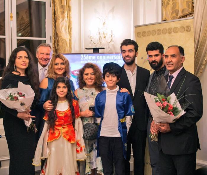 Paris Azərbaycan Evinin yubileyi keçirilib - Fotolar