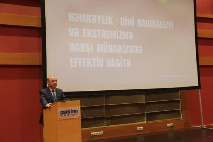 """""""Radikalizmlə mübarizədə həmrəylik vacibdir"""" - Səyavuş Heydərov"""