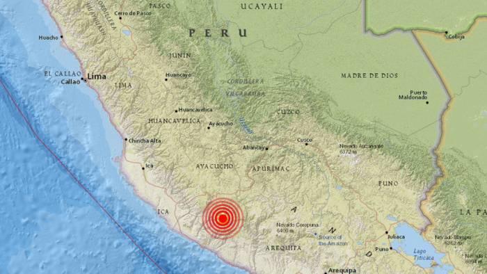 Se registra un terremoto de magnitud 5,2 en Perú