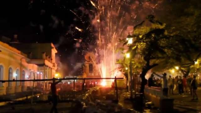 Cuba: Un accidente con fuegos artificiales deja decenas de heridos