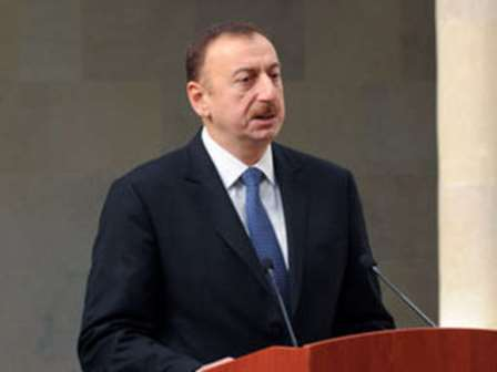 Azerbaijani President warns officials, businessmen against cutting down trees