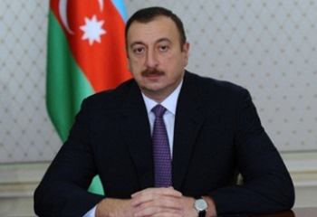 Ilham Aliyev congratulates President of France