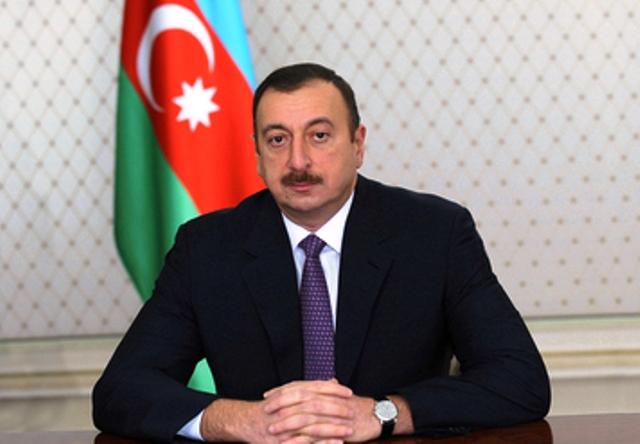 İlham Əliyev nümayəndə heyətini qəbul edib